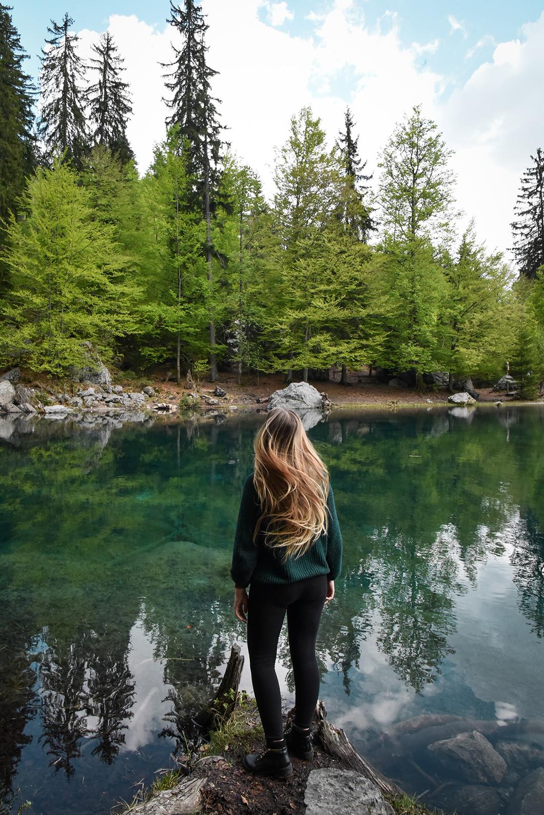 Randonnée au Lac Vert