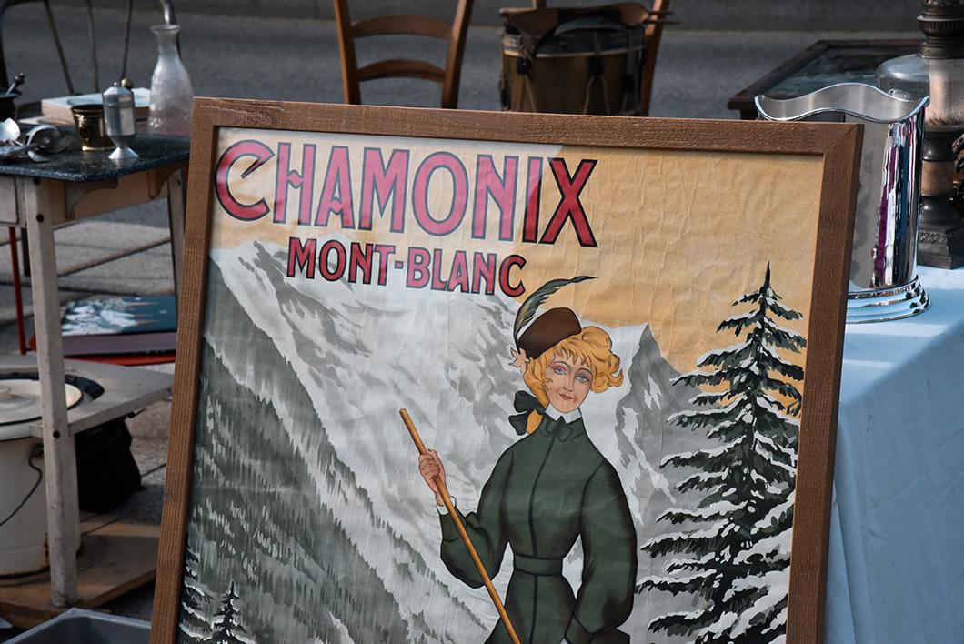 Que faire à Chamonix ? La brocante du samedi
