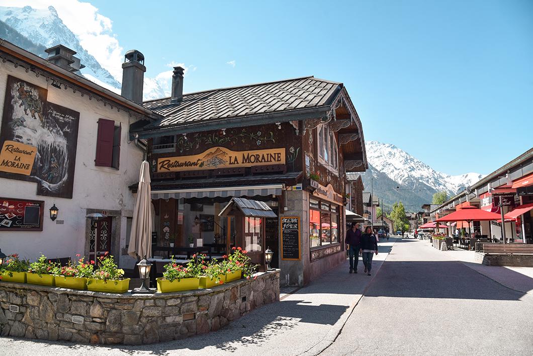 Visiter le centre-ville de Chamonix
