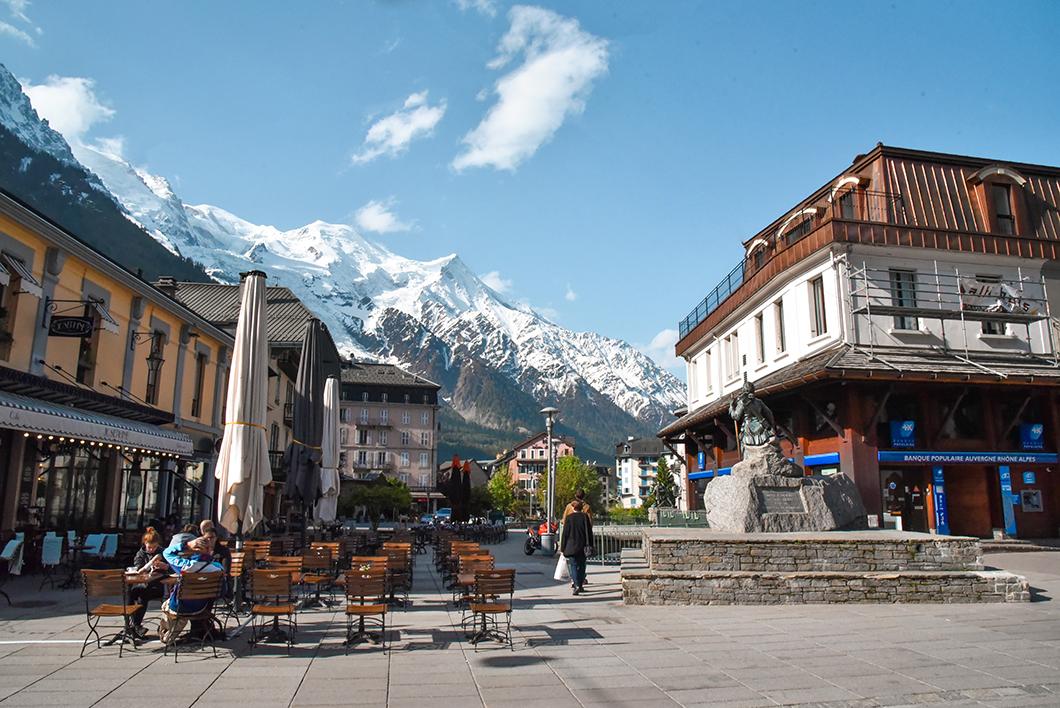 Les jolies rues de Chamonix