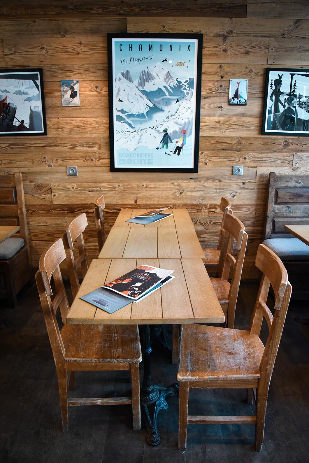 Nos restaurants préférés à Chamonix