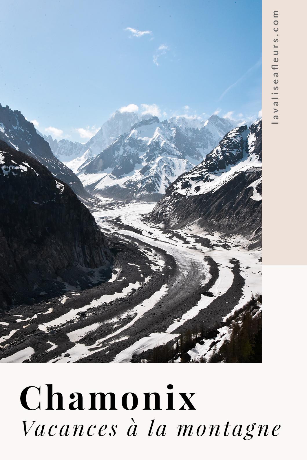 Vacances à la montagne à Chamonix en France