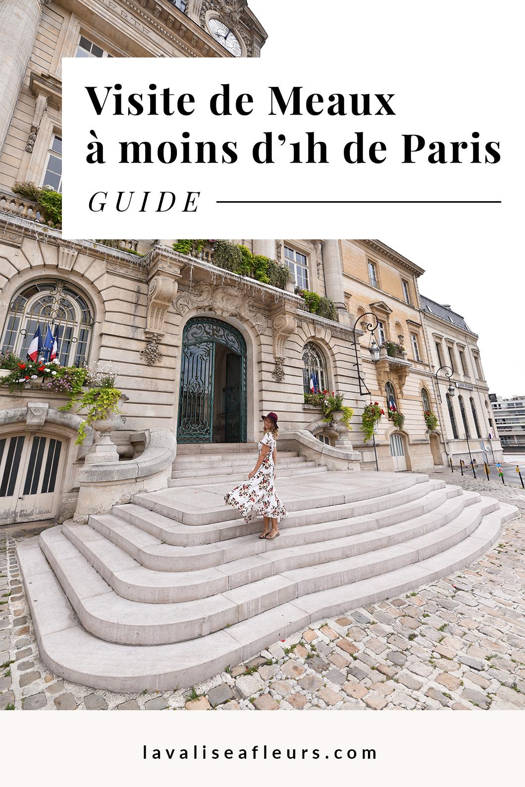 Ville médiévale de Meaux, idée de week end à moins d'1h de Paris
