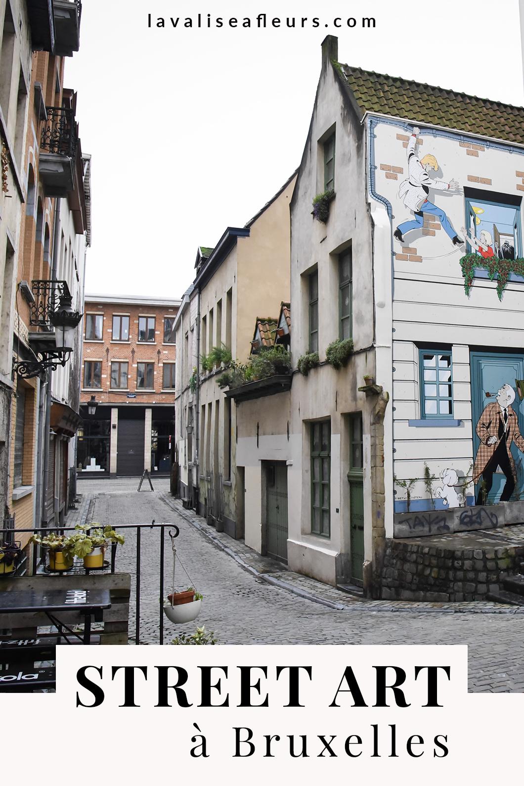 Guide du street art à Bruxelles