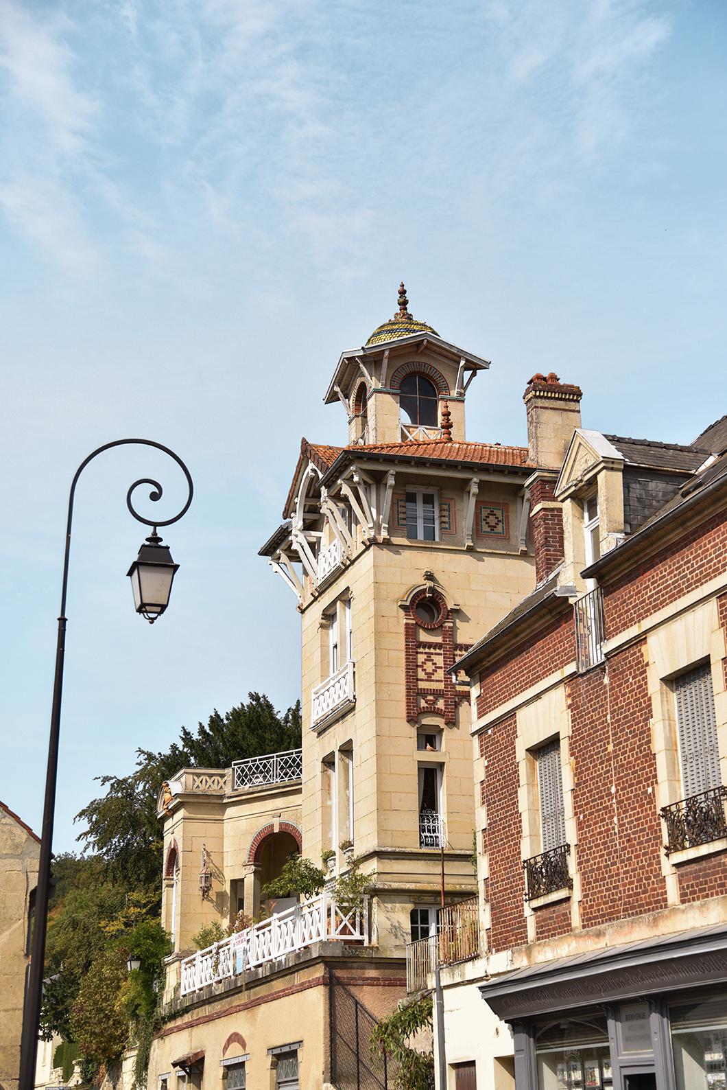 Admirer l'architecture de Pierrefonds