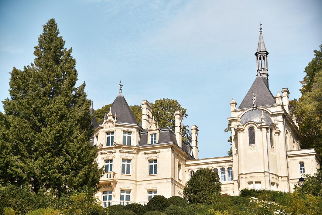 Le Château de Jonval à Pierrefonds