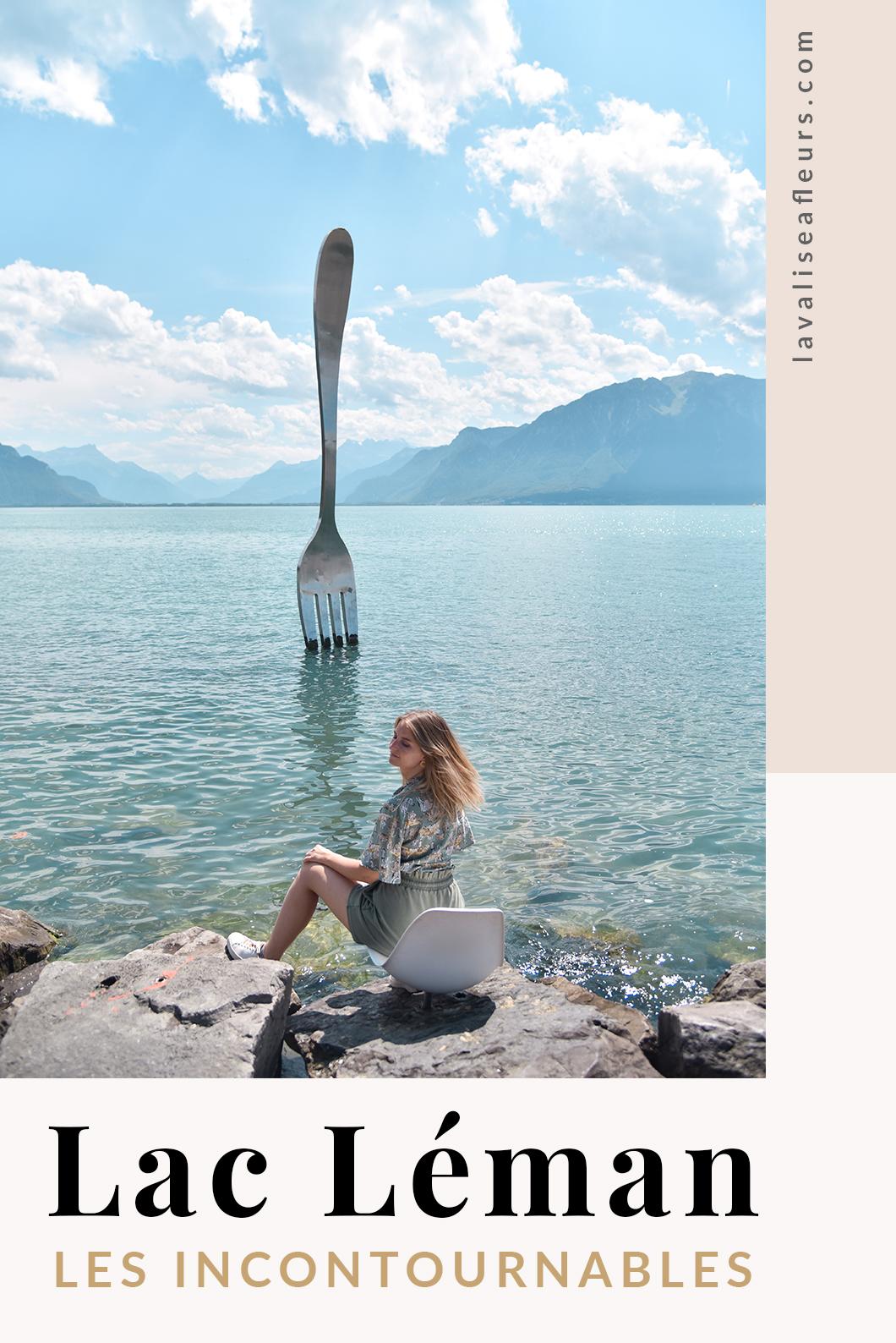 Guide de nos incontournables au Lac Léman en france et en Suisse