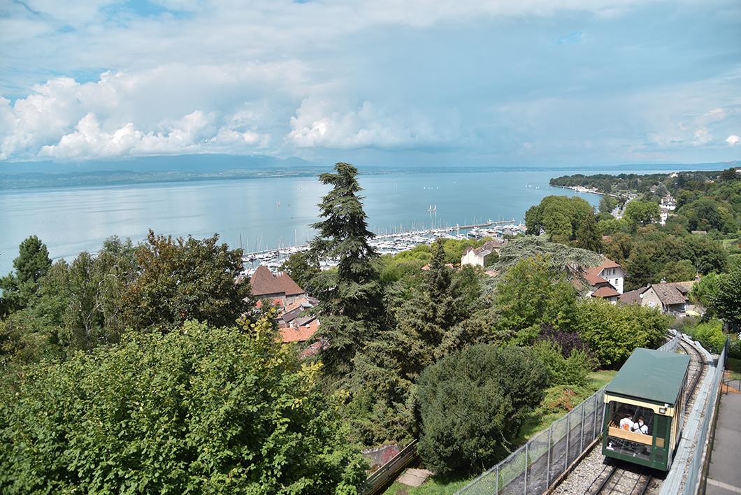 Les jolis points de vue de Thonon-les-Bains
