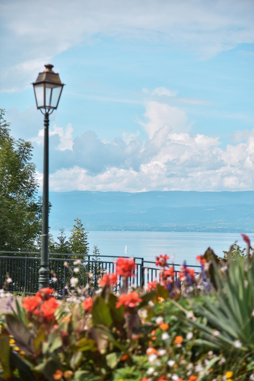 Que faire au Lac Léman ? Les plus beaux points de vue de Thonon