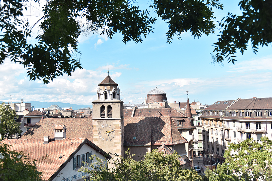 Les jolis points de vue de Genève