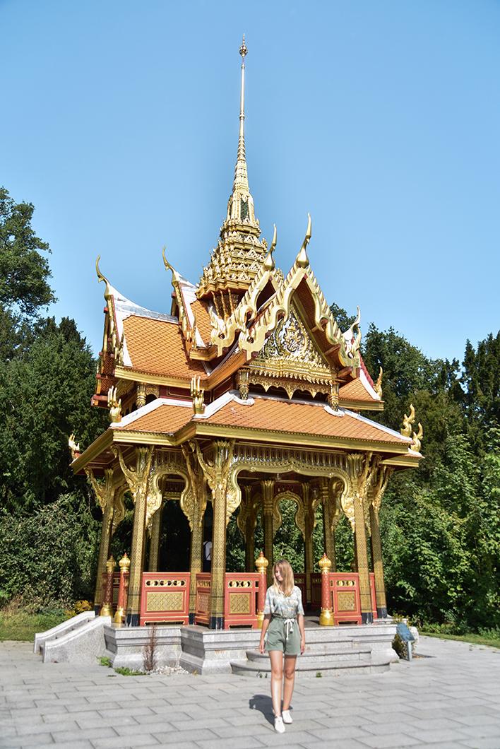 Le pavillon Thaïlandais de Lausanne, endroit insolite en Suisse