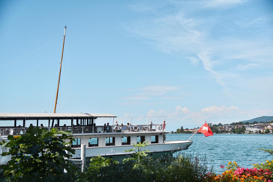 Croisière sur le Lac Léman en Suisse