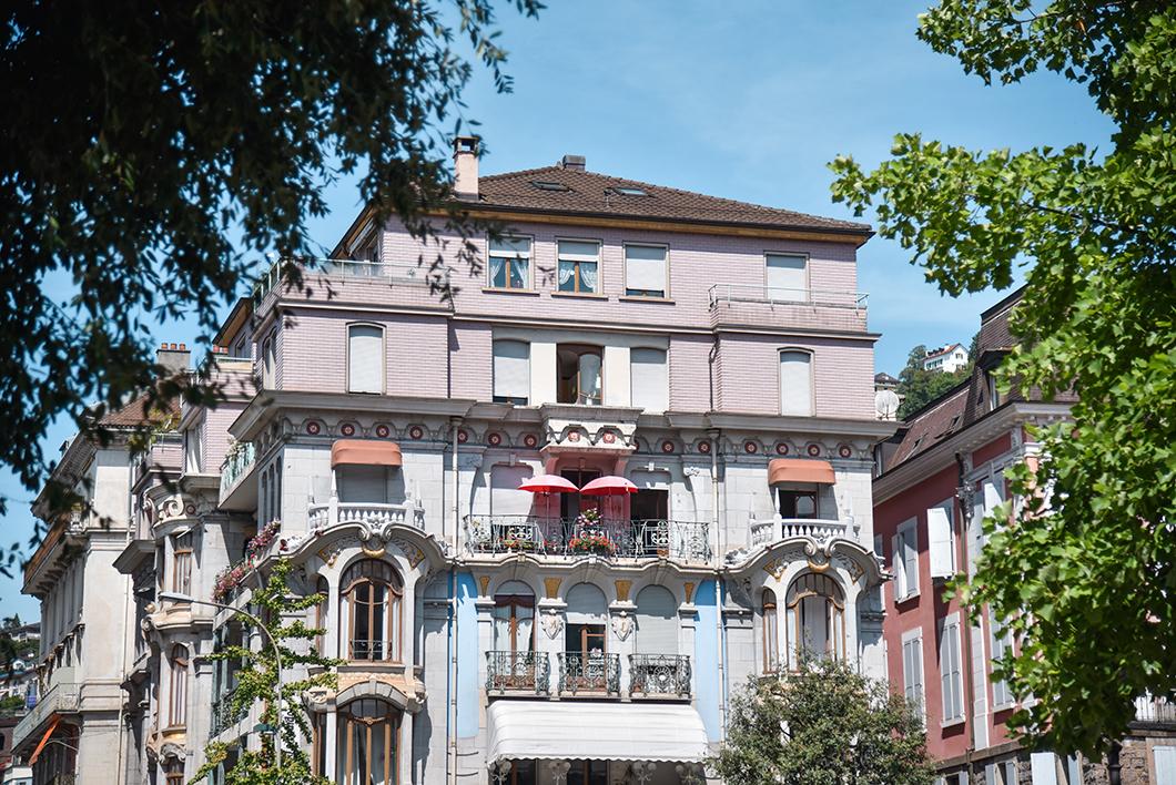 Montreux, la ville de style Belle Époque en Suisse