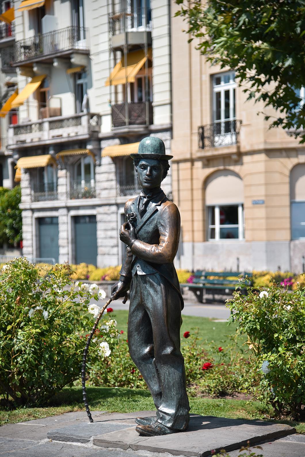 La statue de Charlie Chaplin, incontournables à Vevey