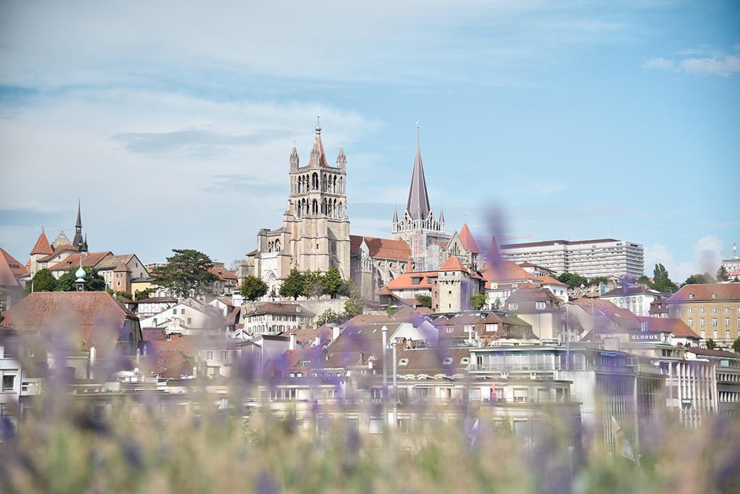 Les jolis points de vue à Lausanne