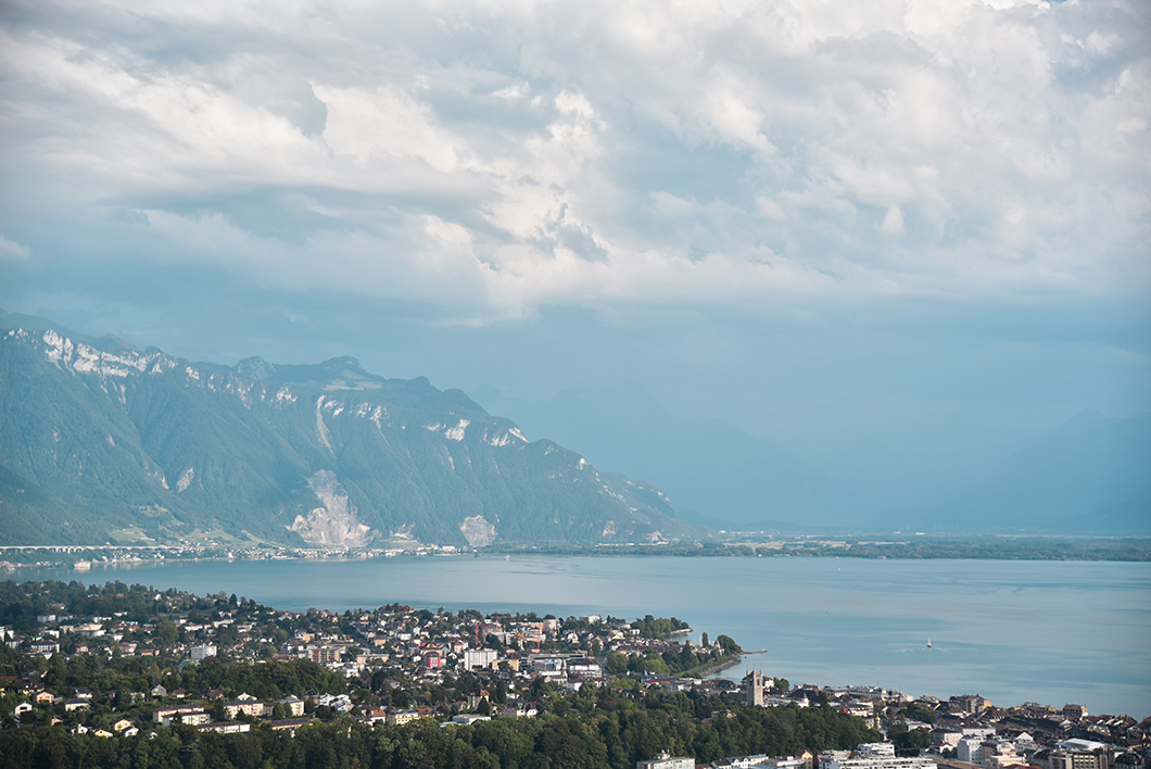 Les jolis points de vue au Mont Pèlerin sur le Lac Léman