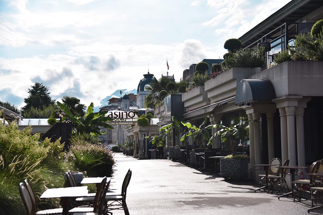 Que faire à Evian-les-Bains au Lac Léman ? Le Casino d'Evian
