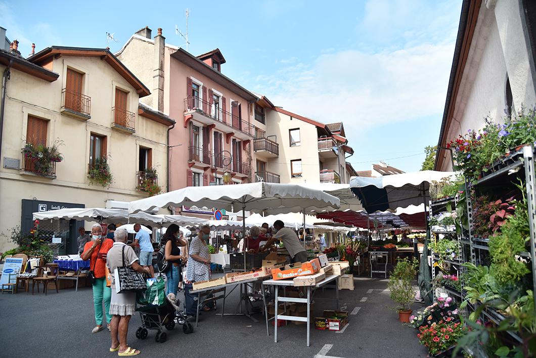 Le marché, visite incontournables à Evian