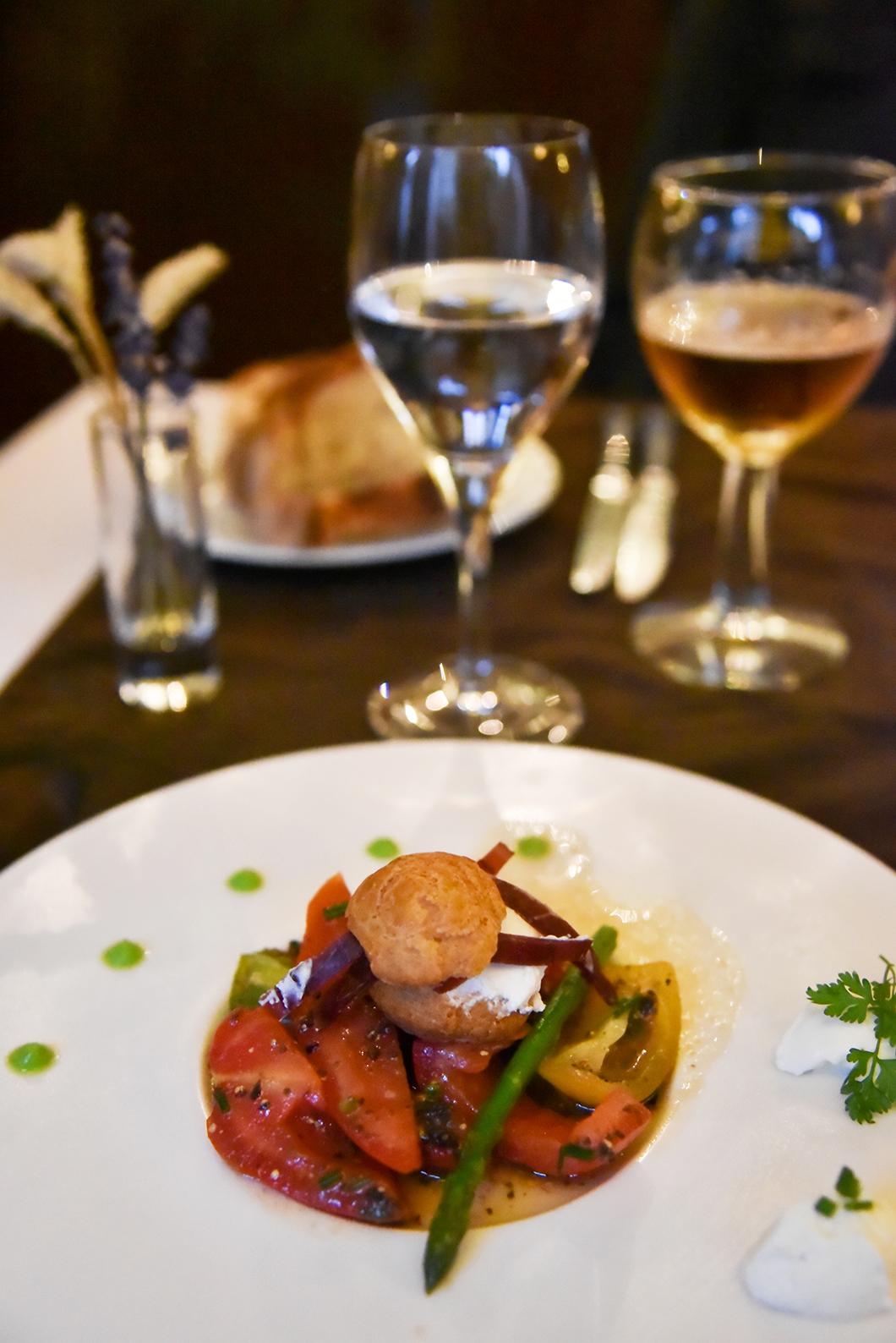 Diner au restaurant Le Grain de Sel à Lons-le-Saunier
