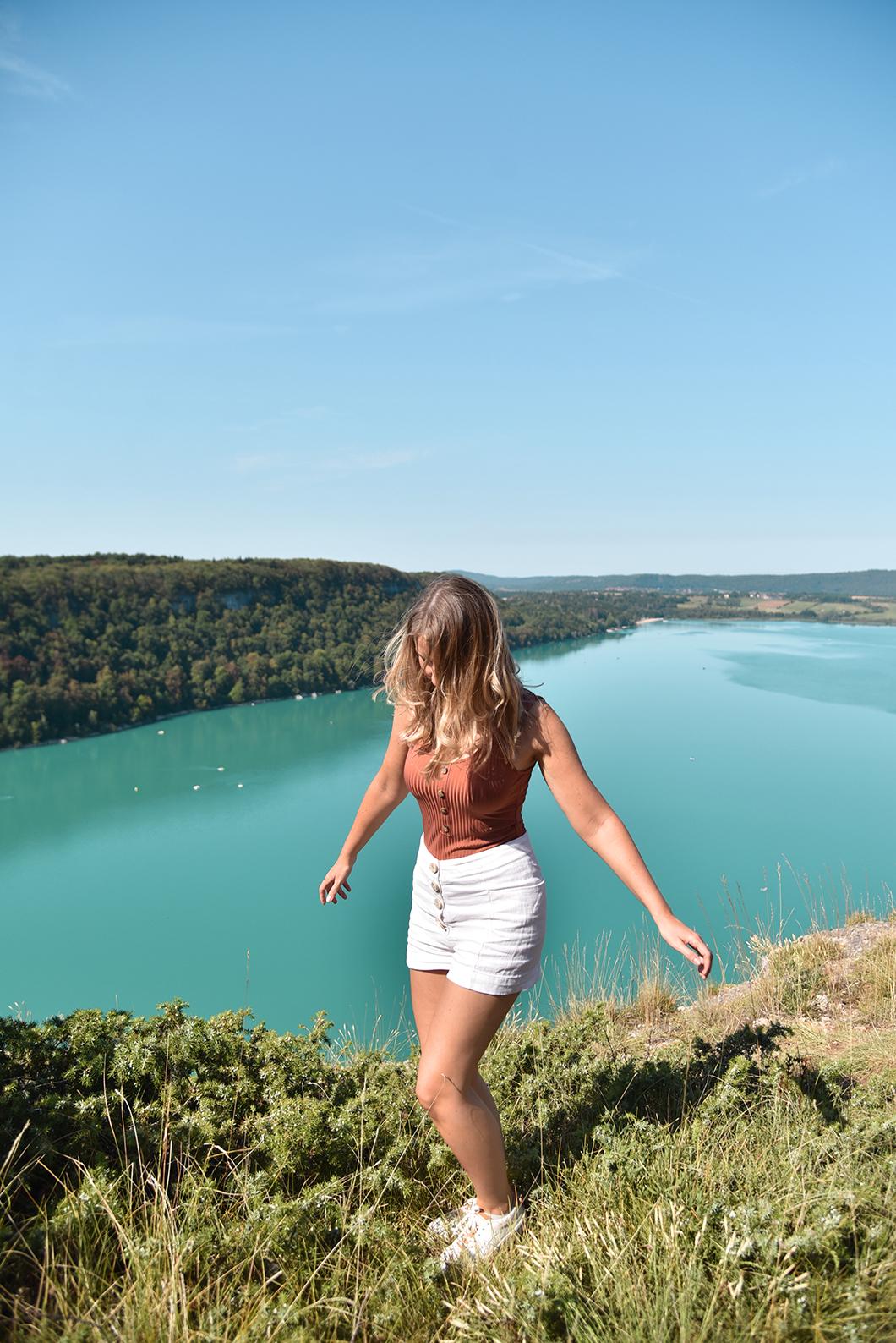 Balade au Lac de Chalain dans le Jura