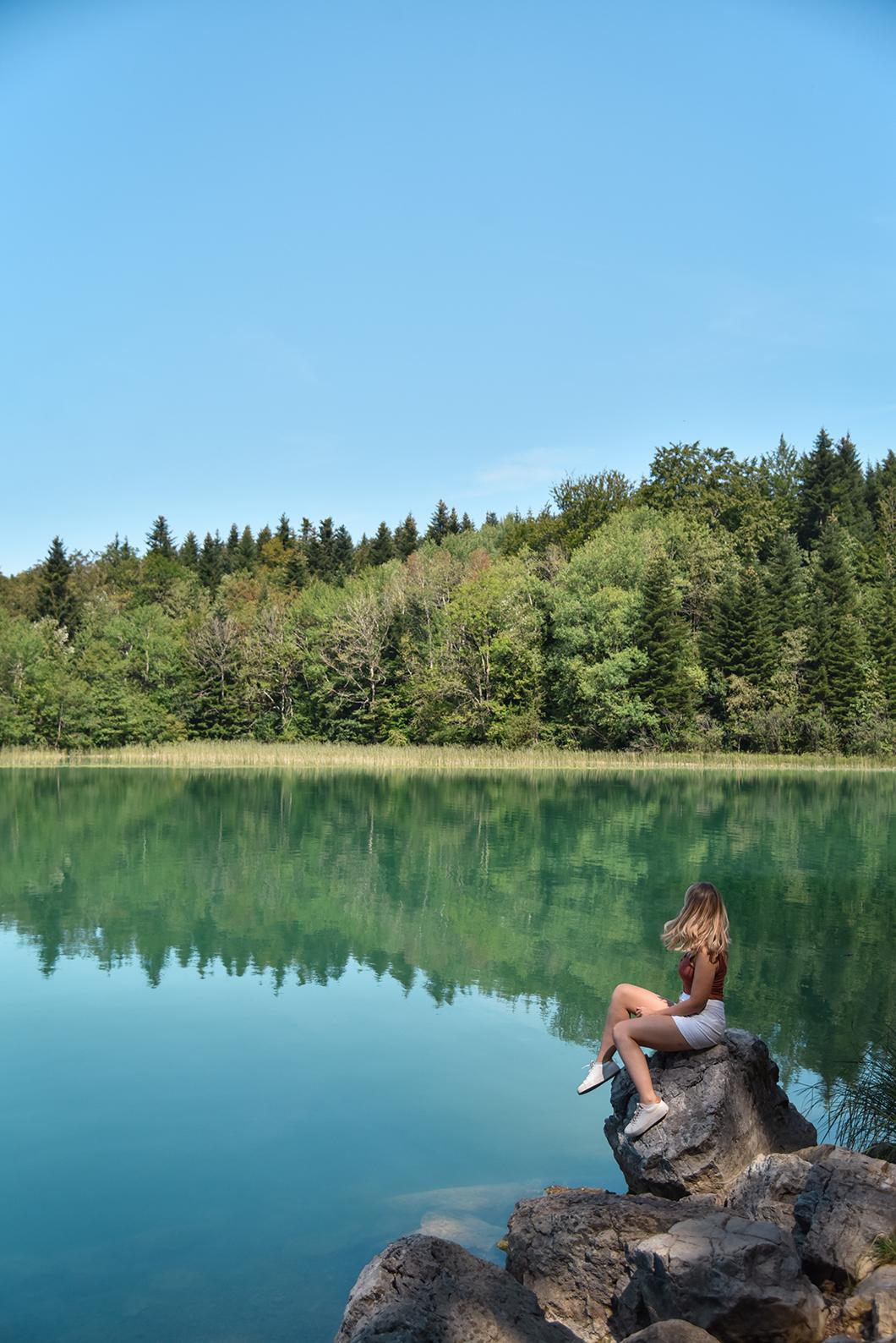 La Grand Maclu, l'un des plus beaux lacs du Jura