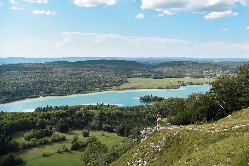 Le Pic de l'Aigle, joli point de vue dans le Jura