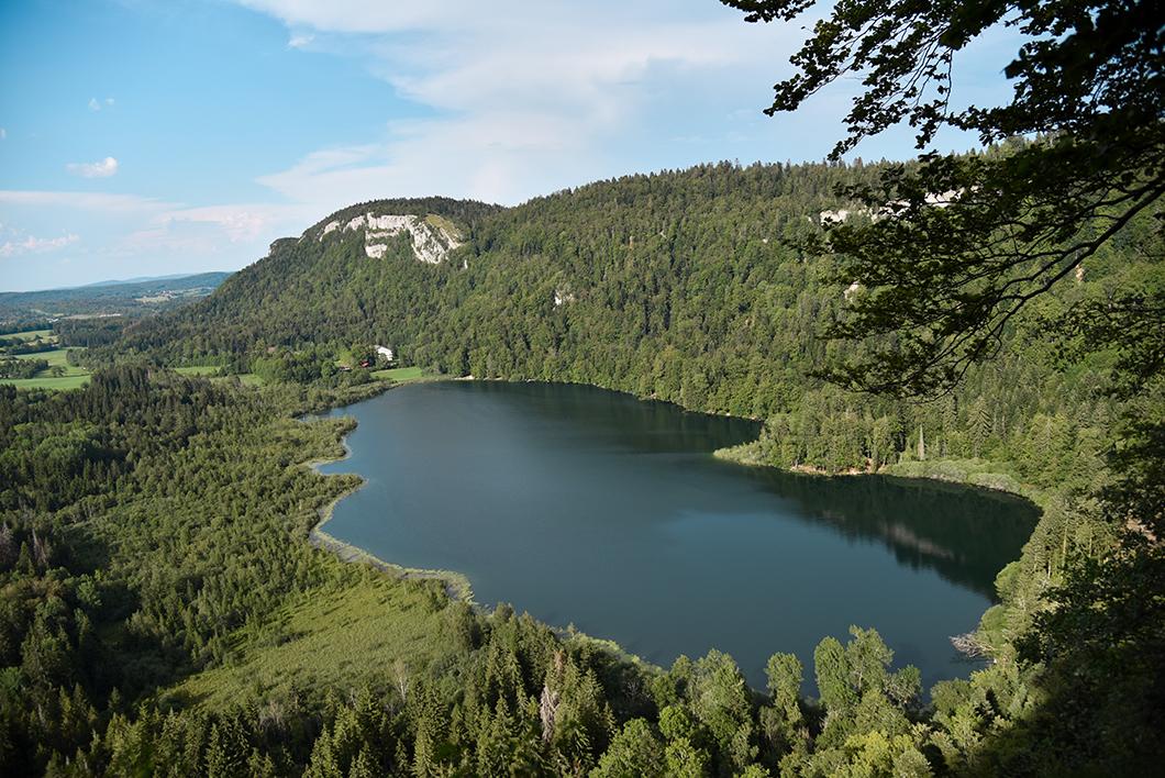 Découvrir les Lacs du Jura, le Lac de Bonlieu