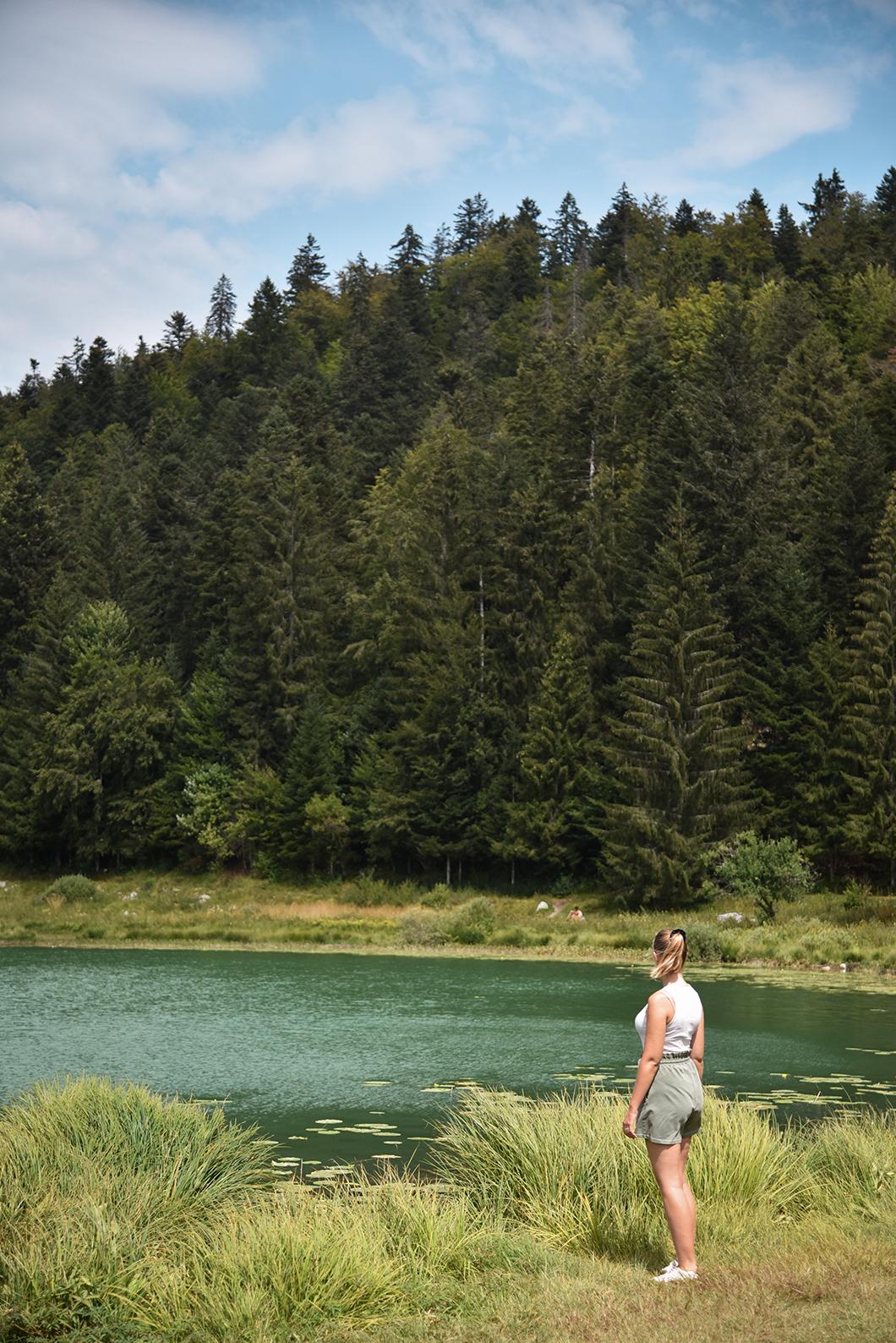 Baignade au Lac Genin