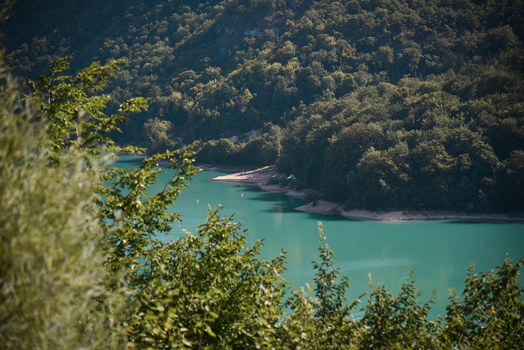 Lac de Vouglans, les plus beaux lacs du Jura