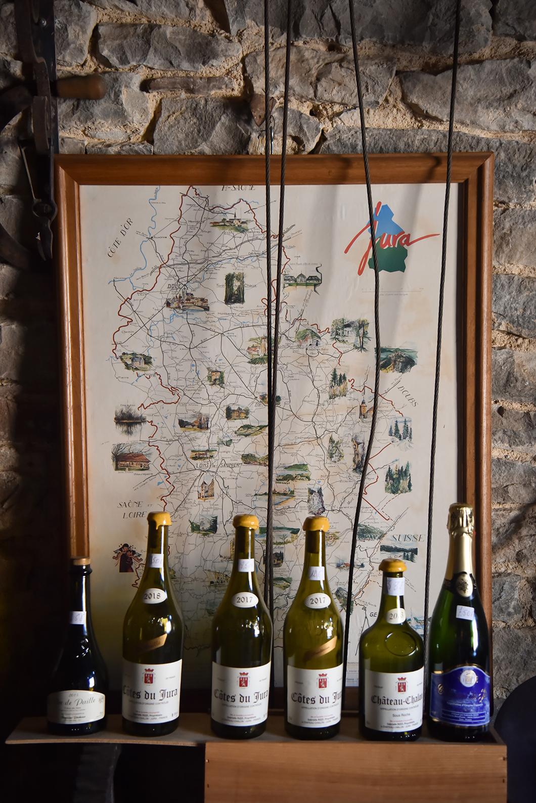 Découvrir la Route des vins du Jura