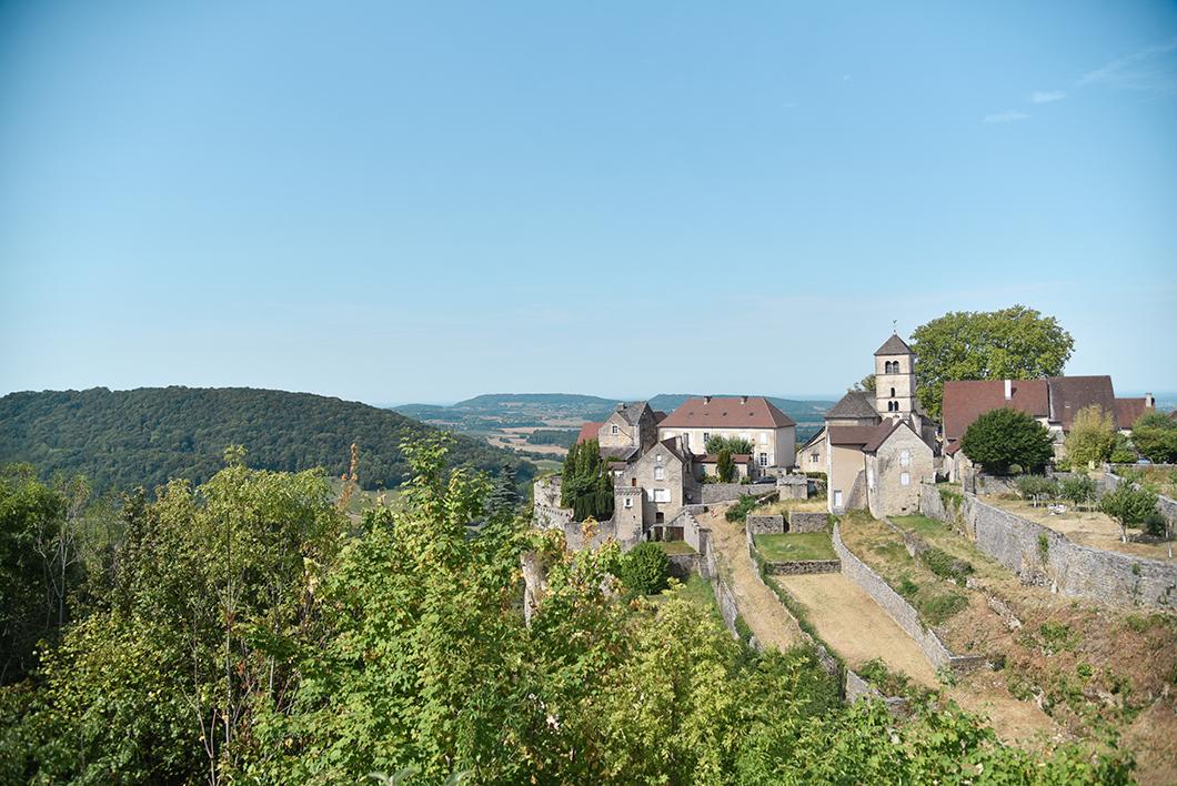 Que faire dans le Jura ? Les plus beaux points de vue de Château-Chalon
