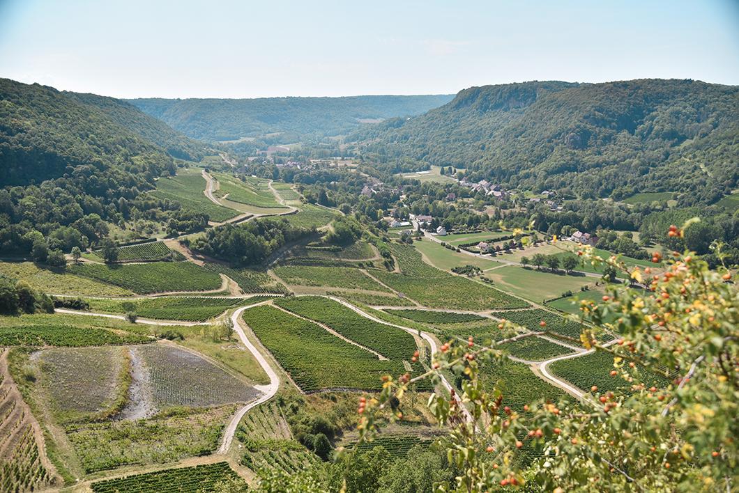 Découvrir le Belvédère de la Rochette, Incontournables à Château-Chalon