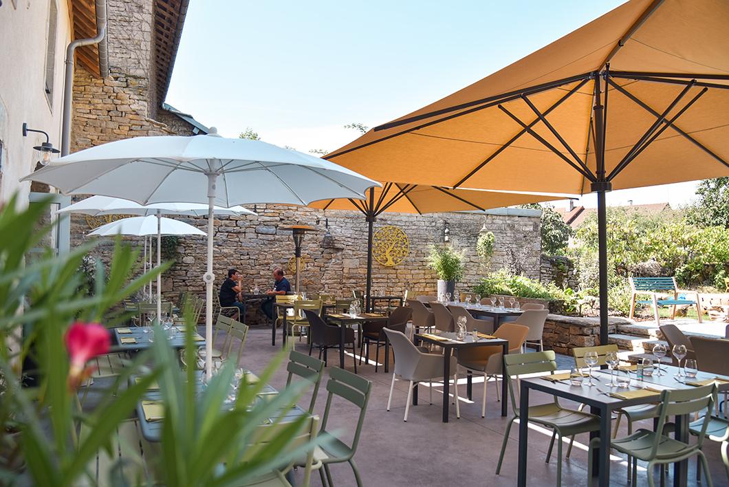 Déjeuner au restaurant Bouchon du Château à Château-Chalon