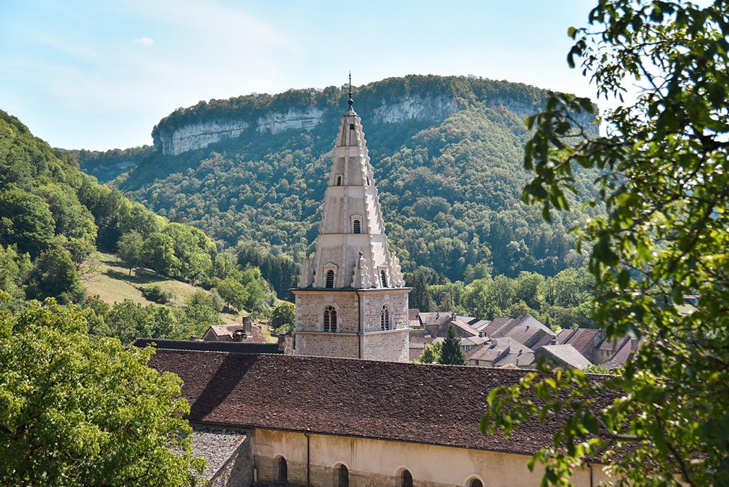 Visite de l'Abbaye Impériale à Baume-les-Messieurs