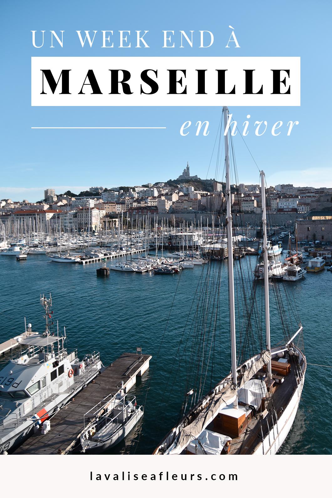 Un week end à Marseille en hiver