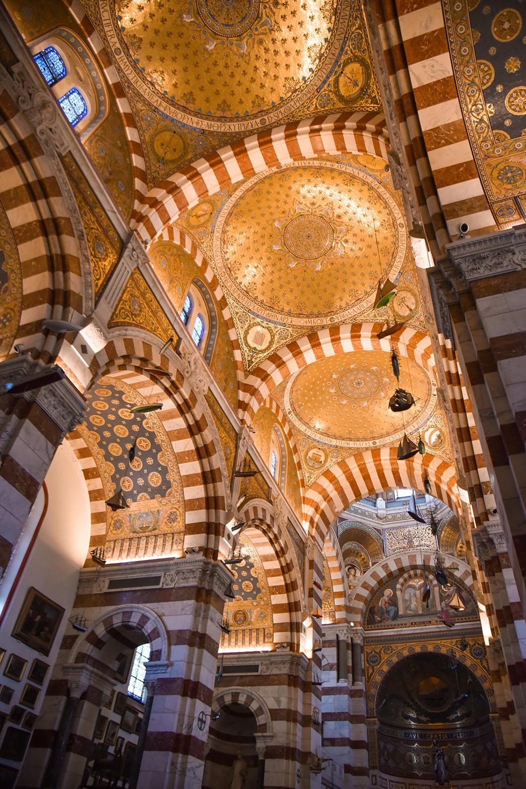 Quelles activités faire en hiver à Marseille ? Aller à la Basilique Notre-Dame de Garde