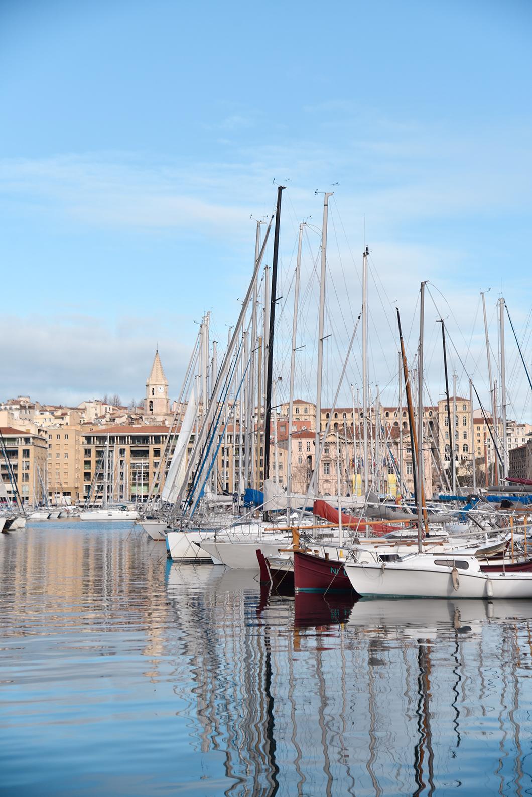 Le Vieux Port, incontournables à Marseille en hiver