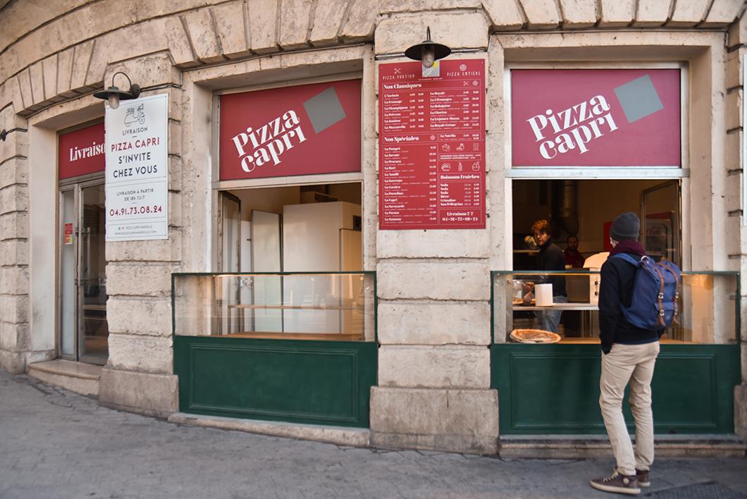 Où manger à Marseille ? Pizza Capri, notre pizza préférée à Marseille