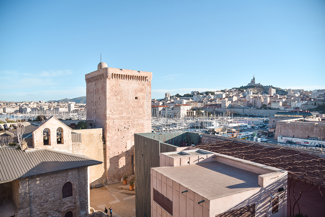 Les jolis points de vue du Fort Saint-Jean à Marseille