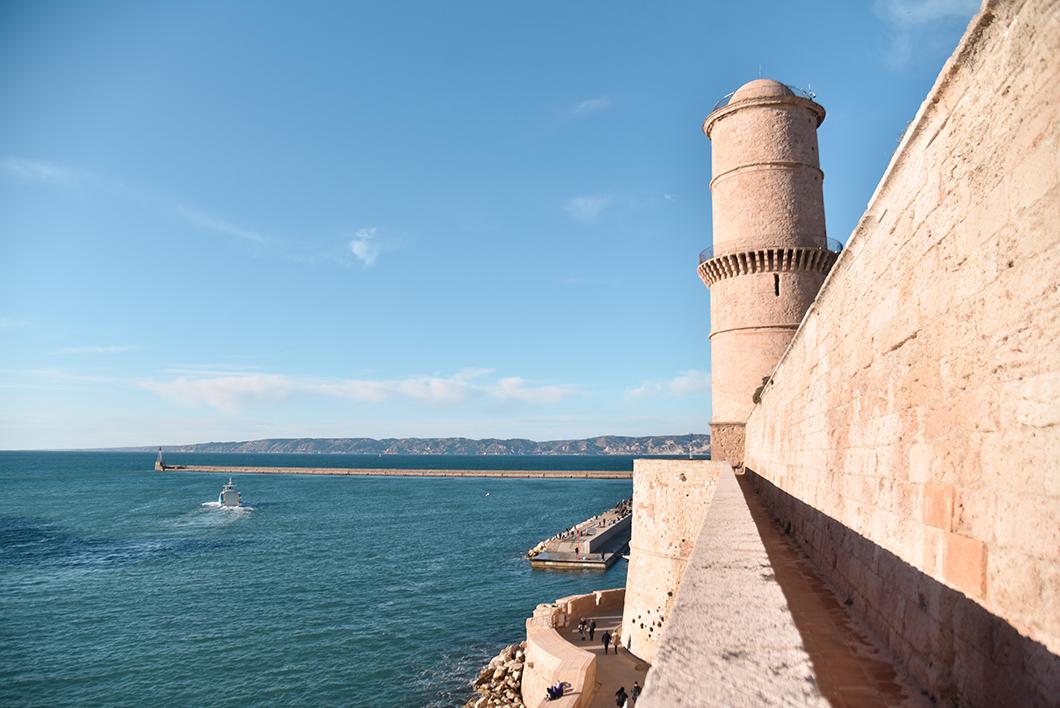 Que faire en extérieur à Marseille ? Découverte du Fort Saint-Jean