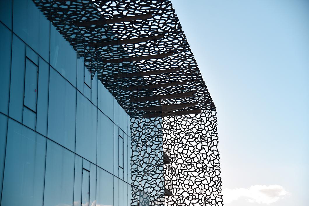 Admirer l'architecture du MuCEM, visite incontournable à Marseille