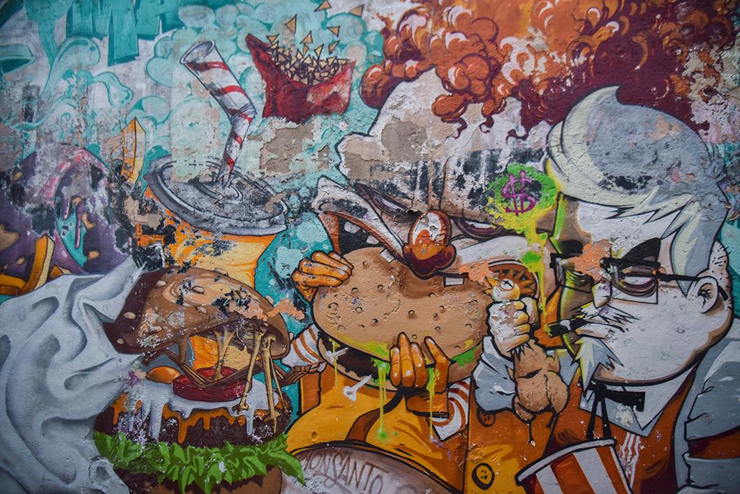 Que faire à Marseille ? Découvrir le Panier et son street art