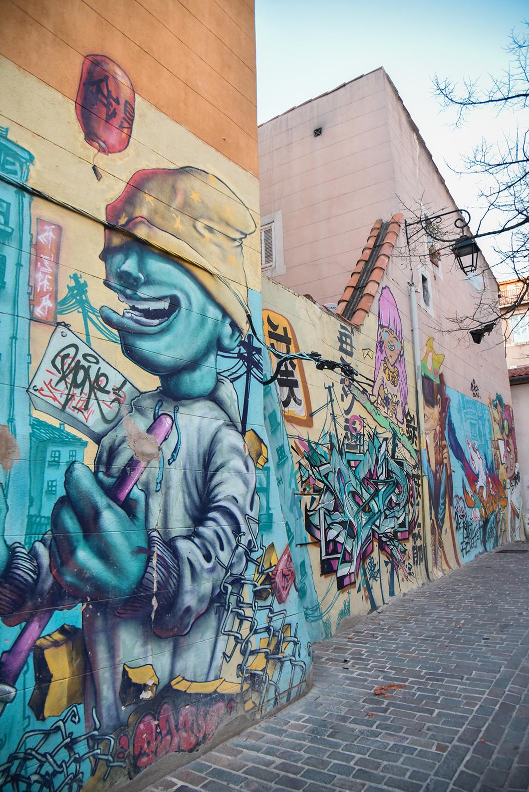 Le Panier, Quartier de street art à Marseille