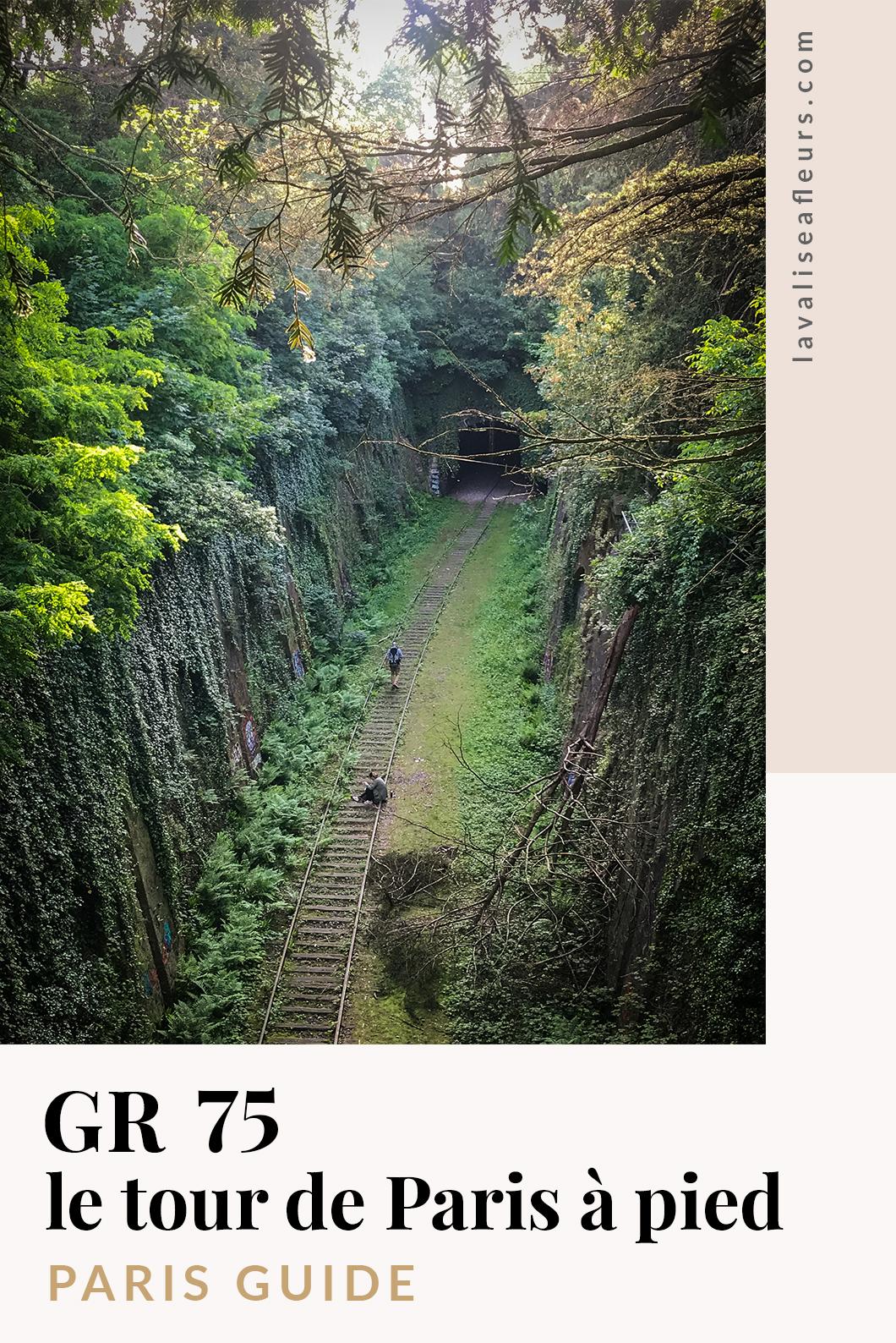 GR 75, le tour de Paris à pied