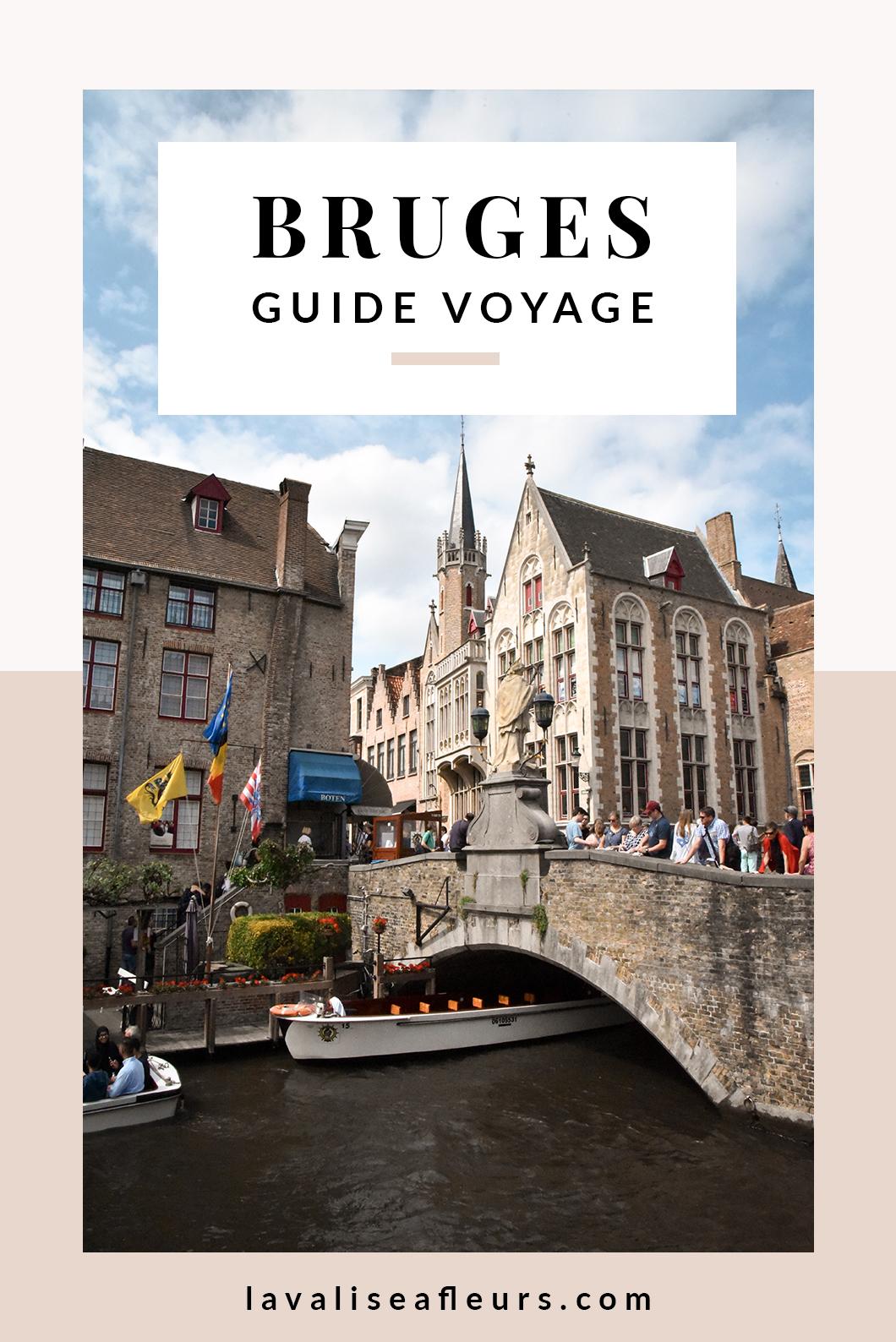Guide voyage de Bruges en Belgique