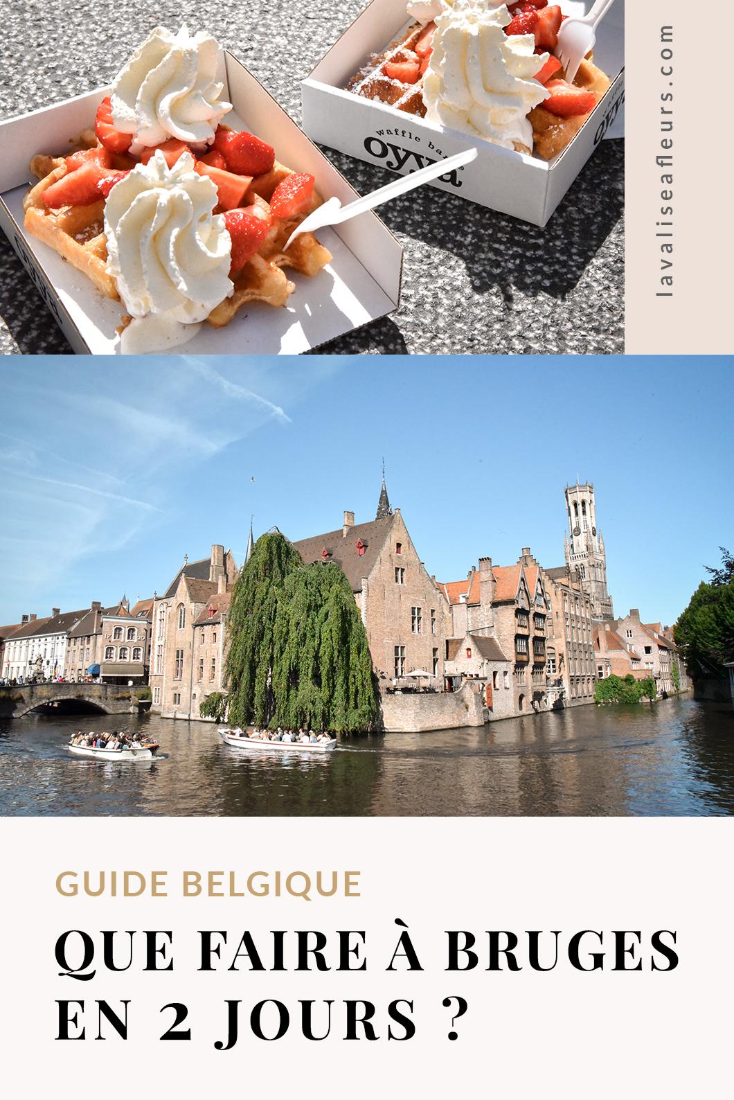 Que faire à Bruges en 2 jours