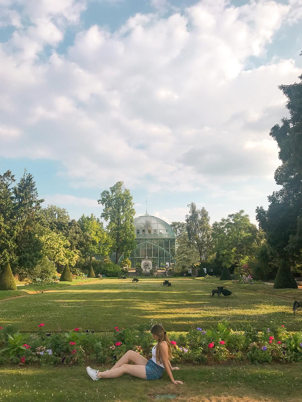 Se promener dans le Jardin des Serres d'Auteuil
