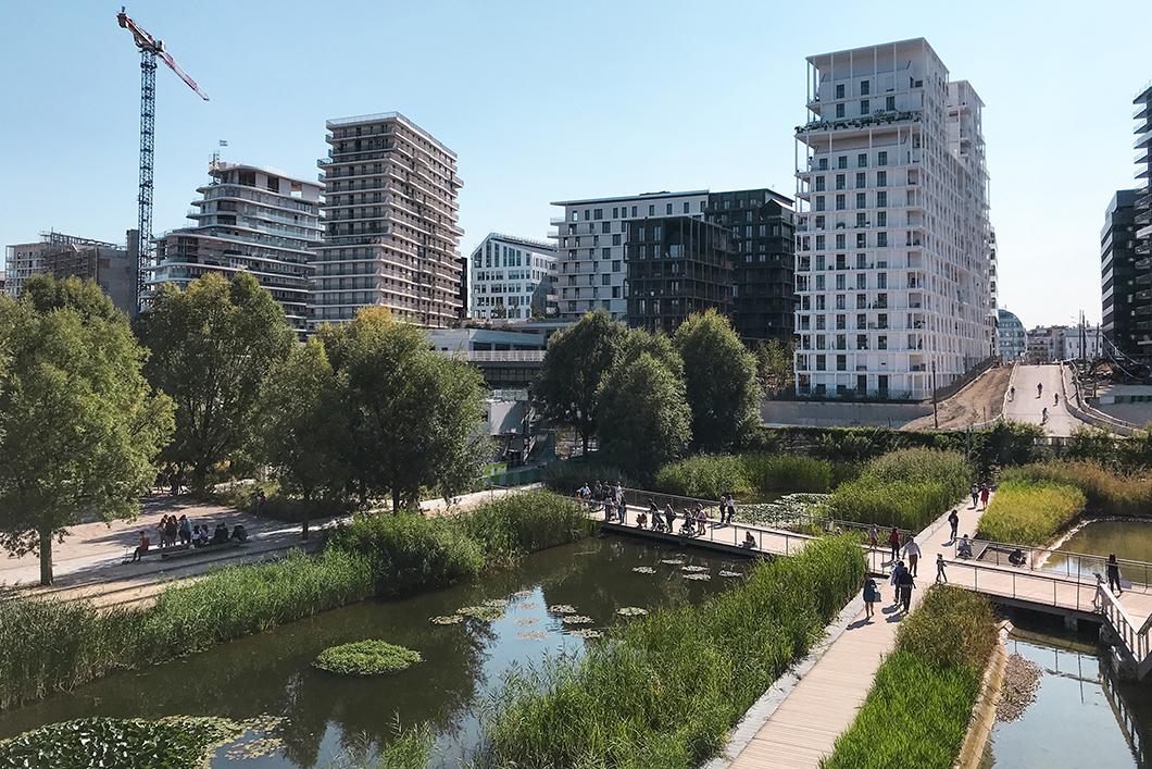 Découvrir le Parc Clichy-Batignolles dans le 17eme