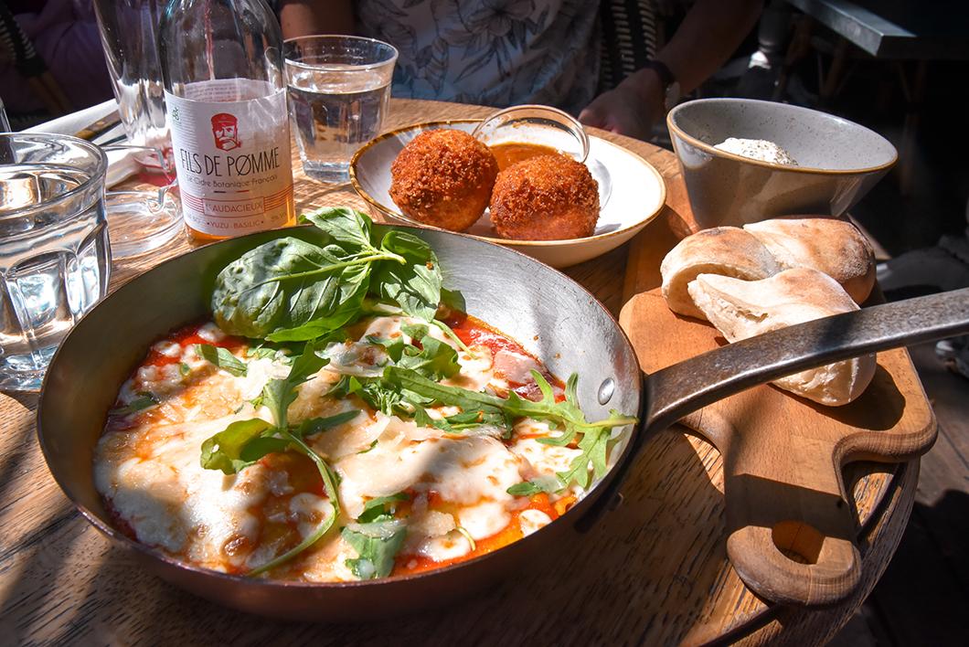 Manger italien à la Brasserie Auteuil