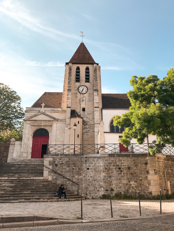 Église Saint-Germain de Charonne à Paris